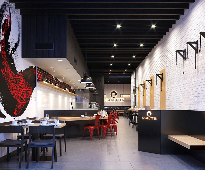 Sushi Bar Interior Design